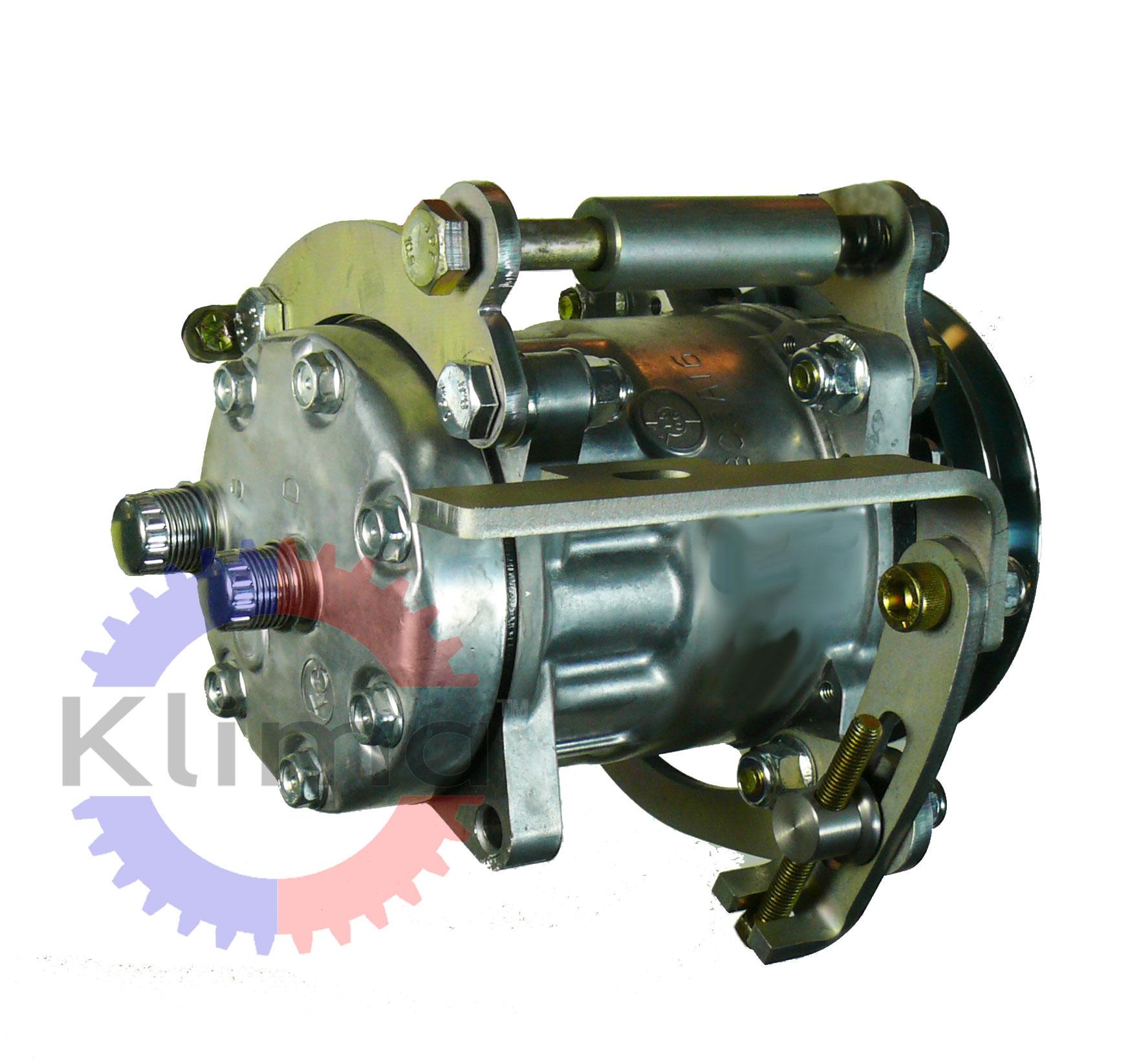 W126 Sanden SD A/C Compressor Mounting Kit